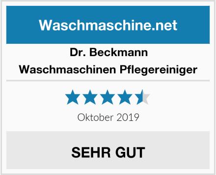 Dr. Beckmann Waschmaschinen Pflegereiniger Test