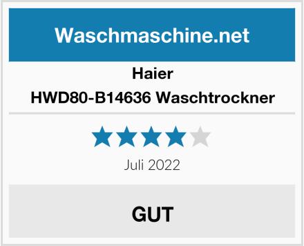 Haier HWD80-B14636 Waschtrockner Test