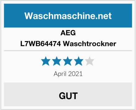 AEG L7WB64474 Waschtrockner Test