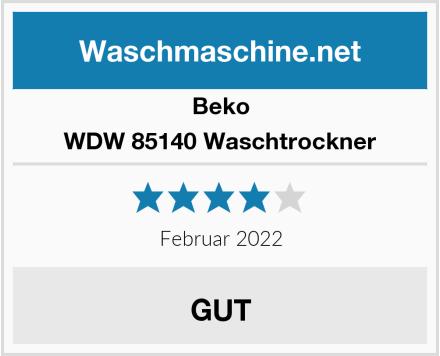 Beko WDW 85140 Waschtrockner Test