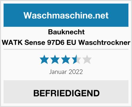 Bauknecht WATK Sense 97D6 EU Waschtrockner Test
