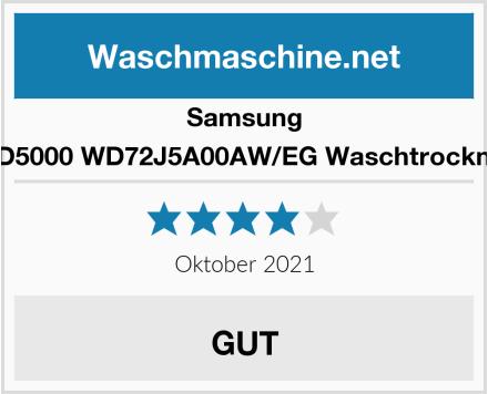 Samsung WD5000 WD72J5A00AW/EG Waschtrockner Test