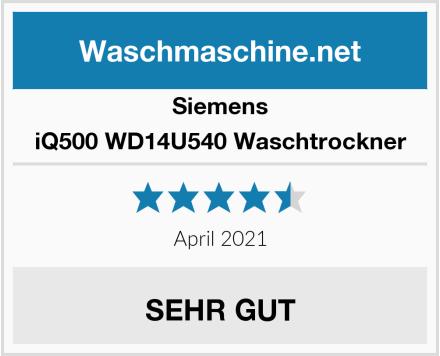 Siemens iQ500 WD14U540 Waschtrockner Test