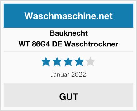 Bauknecht WT 86G4 DE Waschtrockner Test