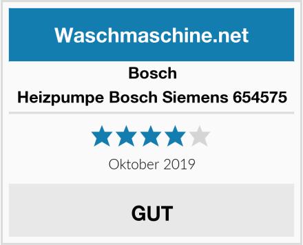Bosch Heizpumpe Bosch Siemens 654575 Test