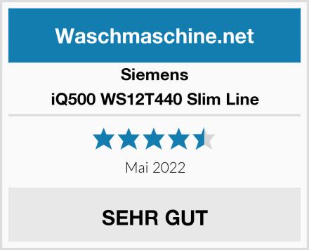 Siemens iQ500 WS12T440 Slim Line Test