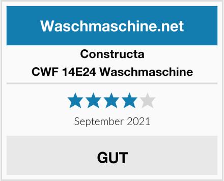 Constructa CWF 14E24 Waschmaschine Test