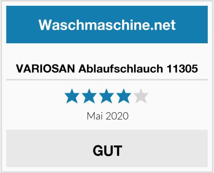 VARIOSAN Ablaufschlauch 11305 Test