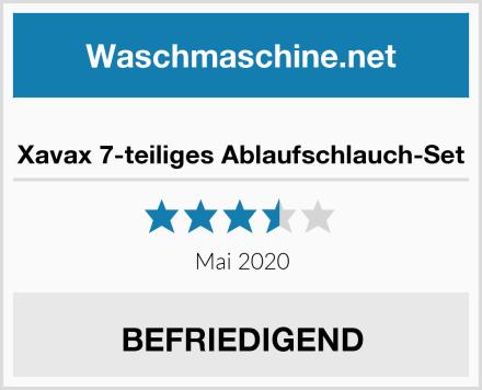 Xavax 7-teiliges Ablaufschlauch-Set Test