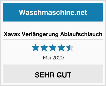 Xavax Verlängerung Ablaufschlauch Test