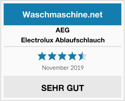 AEG Electrolux Ablaufschlauch Test