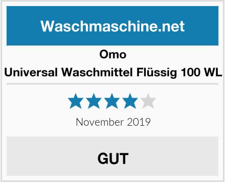 Omo Universal Waschmittel Flüssig 100 WL Test