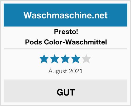 Presto! Pods Color-Waschmittel Test