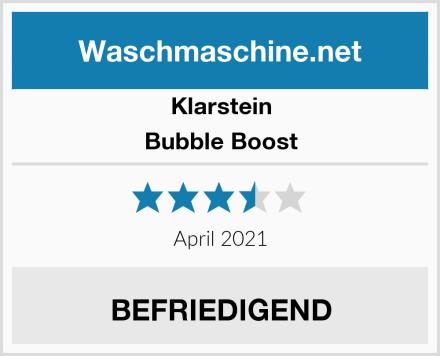 Klarstein Bubble Boost Test