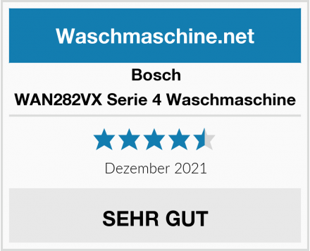 Bosch WAN282VX Serie 4 Waschmaschine Test