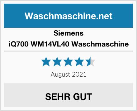 Siemens iQ700 WM14VL40 Waschmaschine Test