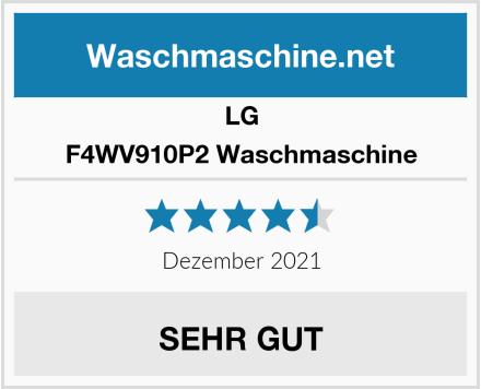 LG F4WV910P2 Waschmaschine Test