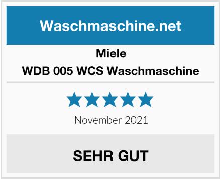 Miele WDB 005 WCS Waschmaschine Test