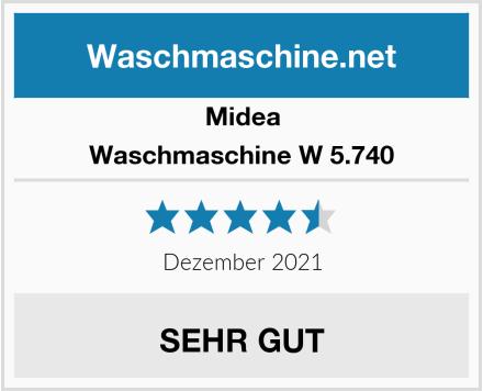 Midea Waschmaschine W 5.740 Test