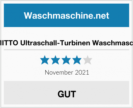 GEMITTO Ultraschall-Turbinen Waschmaschine Test