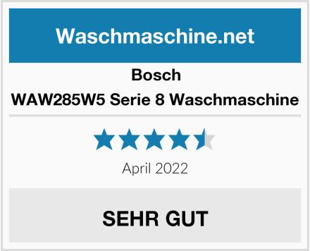 Bosch WAW285W5 Serie 8 Waschmaschine Test