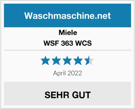 Miele WSF 363 WCS Test
