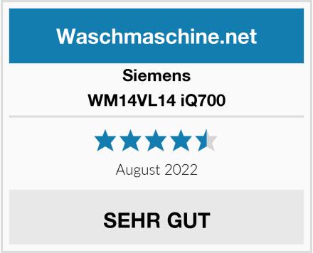 Siemens WM14VL14 iQ700 Test