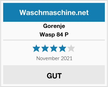 Gorenje Wasp 84 P Test