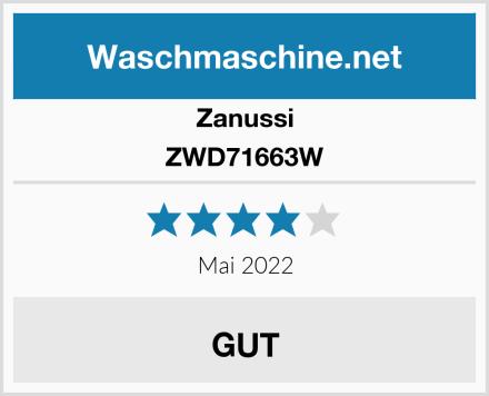 Zanussi ZWD71663W Test