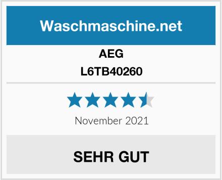 AEG L6TB40260 Test