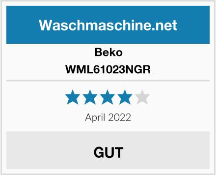 Beko WML61023NGR Test