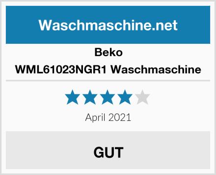 Beko WML61023NGR1 Waschmaschine Test