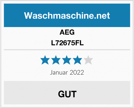 AEG L72675FL Test