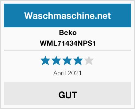 Beko WML71434NPS1 Test