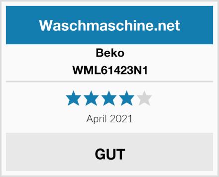 Beko WML61423N1 Test