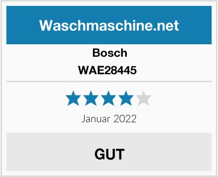 Bosch WAE28445  Test