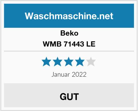 Beko WMB 71443 LE Test
