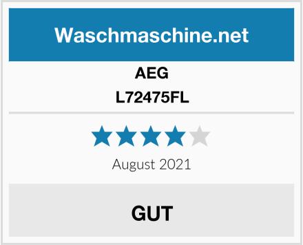 AEG L72475FL Test