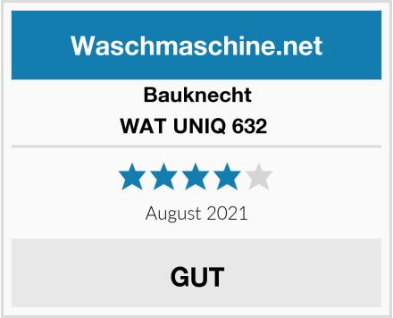 Bauknecht WAT UNIQ 632  Test