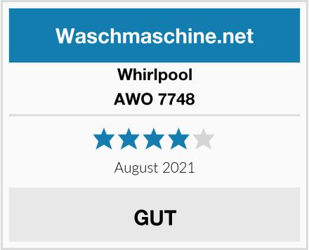Whirlpool AWO 7748 Test