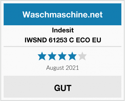 Indesit IWSND 61253 C ECO EU Test