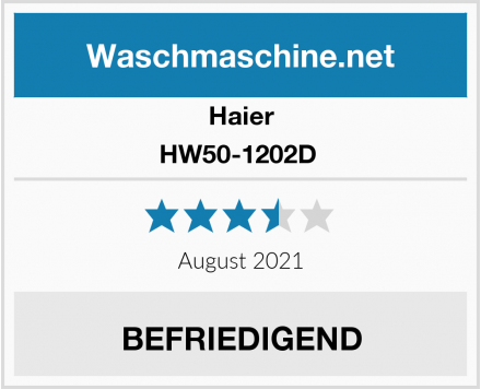 Haier HW50-1202D  Test