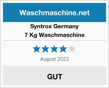 Syntrox Germany 7 Kg Waschmaschine Test