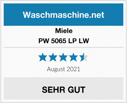 Miele PW 5065 LP LW Test