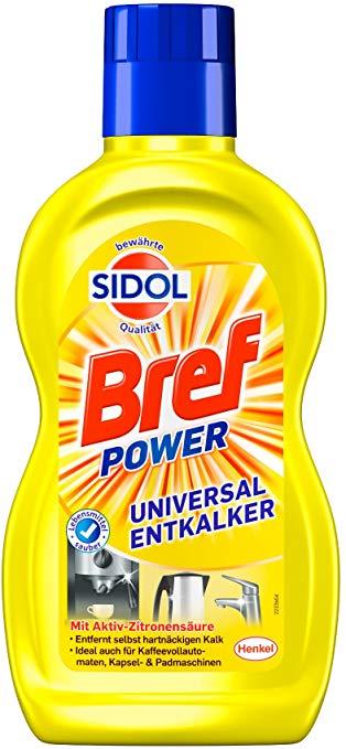 Bref - Sidol Universal-Entkalker, 6er Pack
