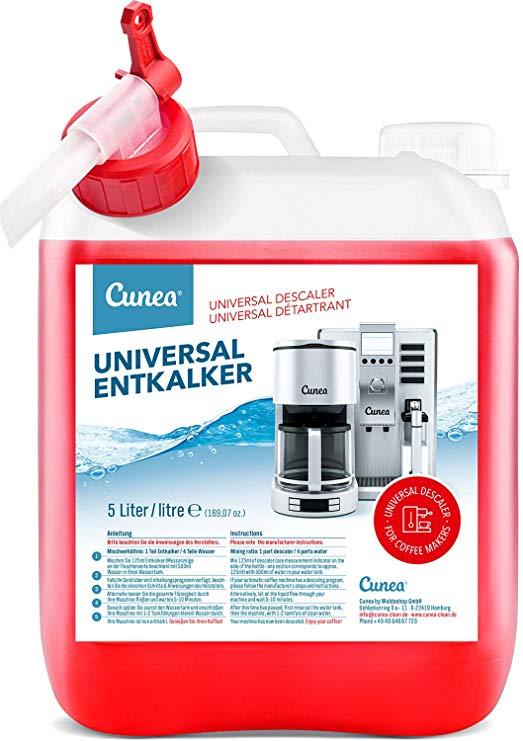 Cunea Universal-Entkalker mit Farbindikator